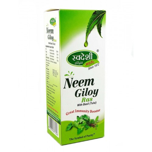 Swadeshi Neem Giloy Ras with Basil (Tulsi) 500ml