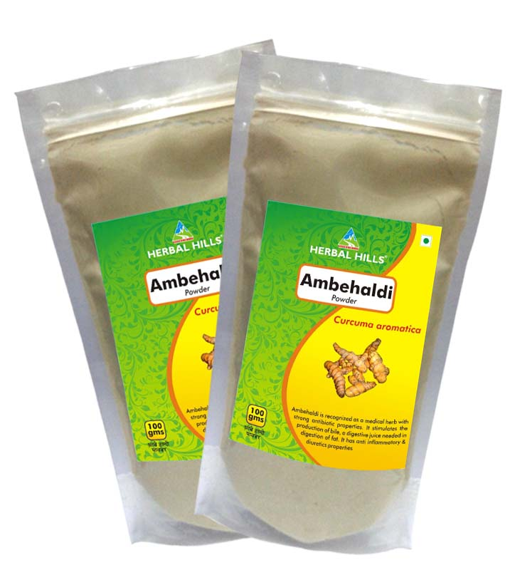 Ambehaldi Powder 100 Gms Powder By Herbal Hills